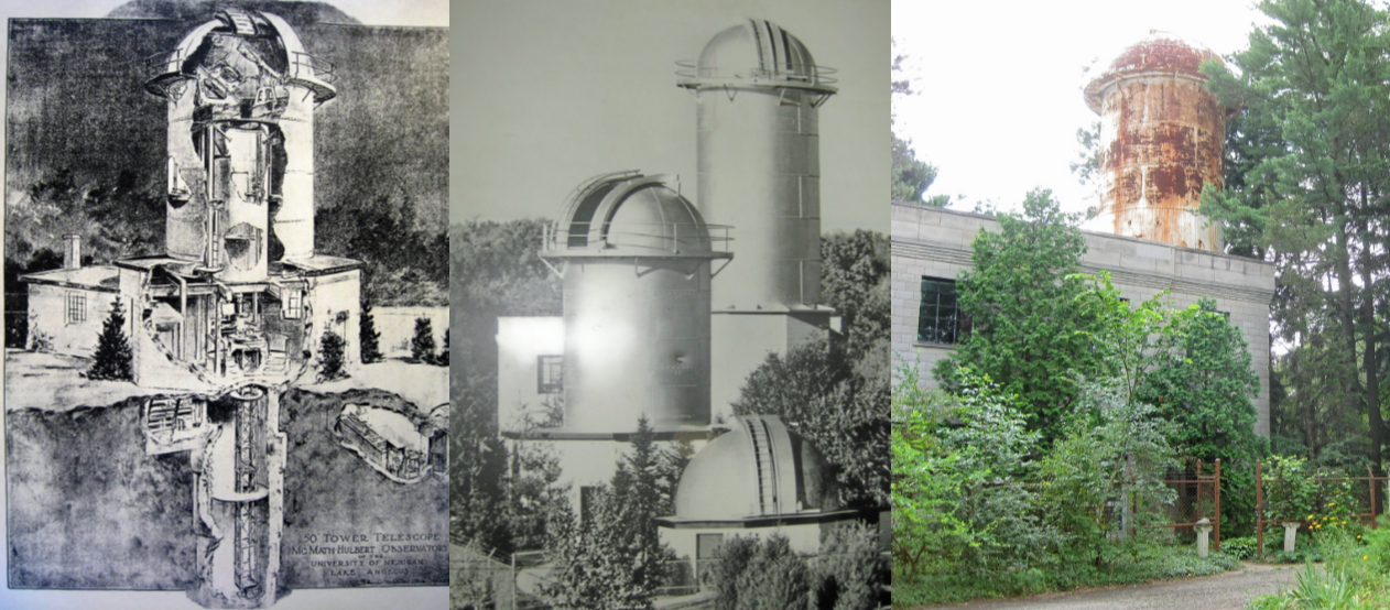 McMath-Hulbert Observatory Then and Now