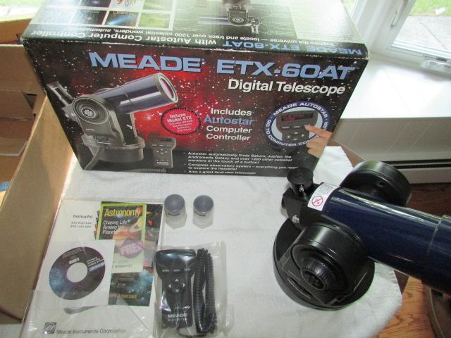 Meade ETX 60 AT Digital Telescope